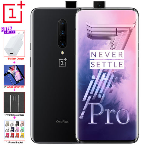 "Global ROM Original OnePlus 7 Pro 8G 256G mobile phone 48MP Camera Snapdragon 855 6.67"" Fluid AMOLED screen UFS 3.0 NFC Phone"