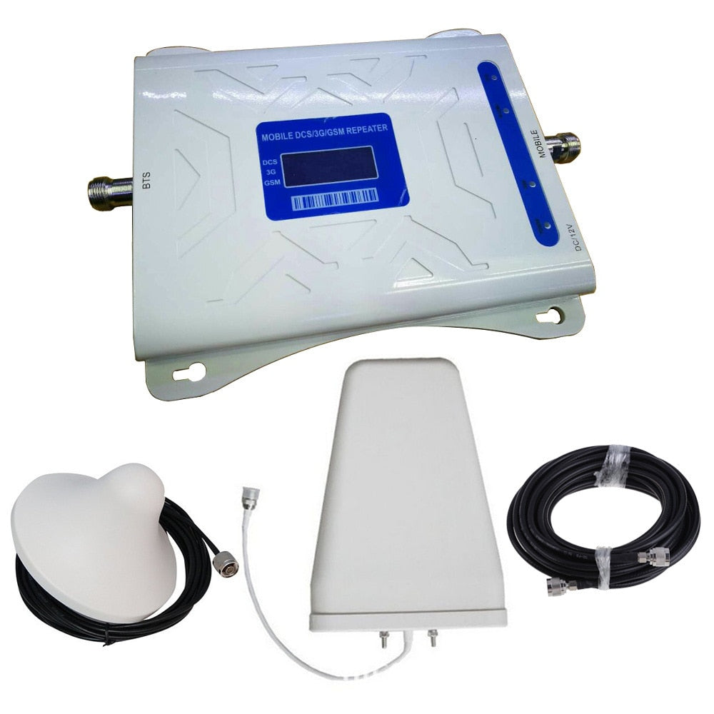 Taiwan Mobile Phone Signal Amplifier 2g3g4g. Enhance Organ 900/1800/2100 Signal Amplifier fixed wireless terminal
