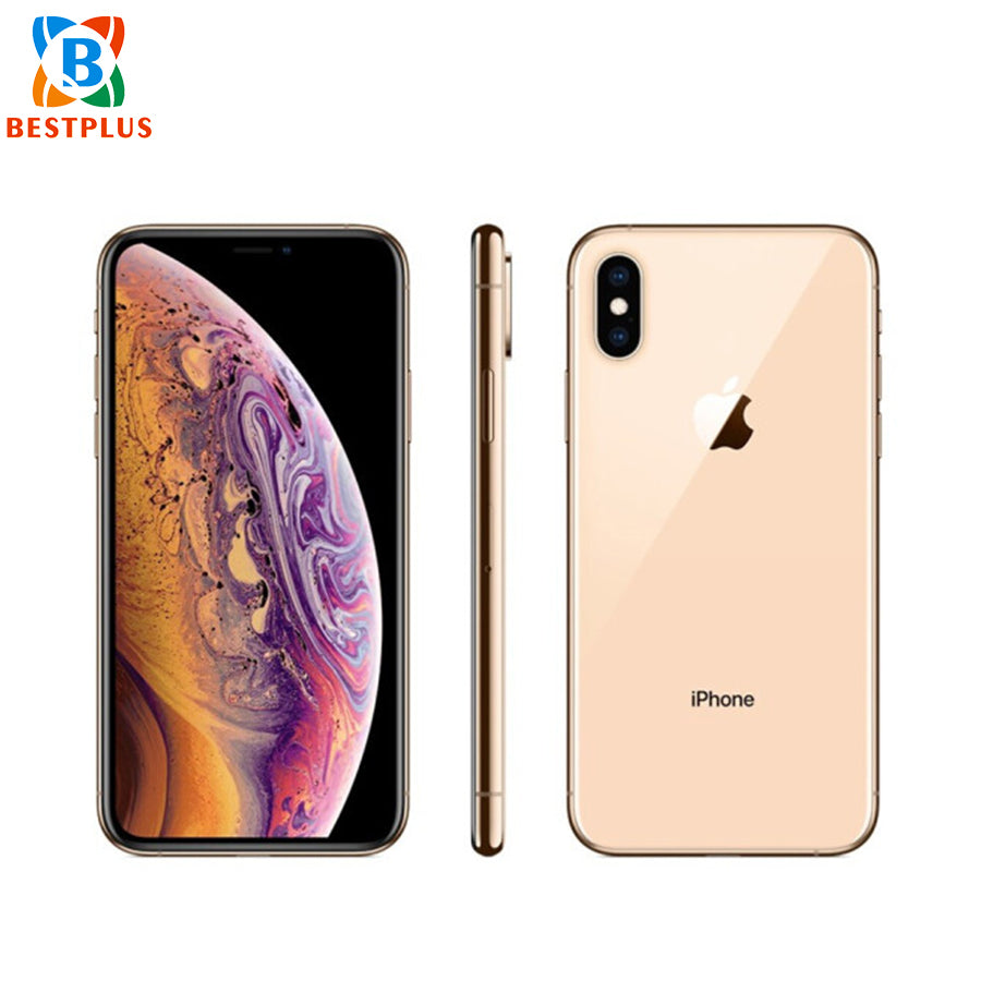 "Global New Activated Apple iphone XS A2097 Mobile Phone 5.8"" 4GB RAM 256GB ROM IP68 dustproof waterproof Face ID Smart Phone"