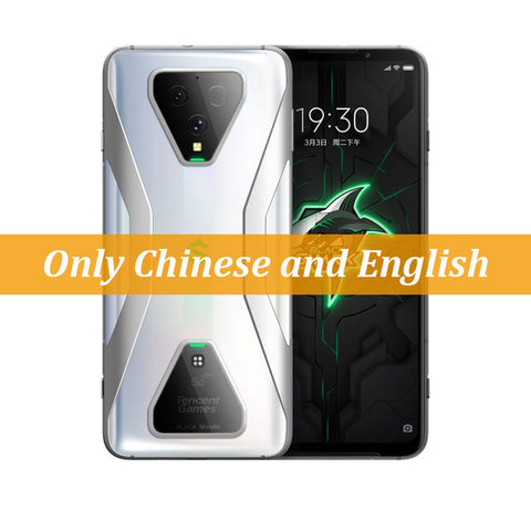 Original Xiaomi Black Shark 3 5G Snapdragon 865 12GB 128GB Game Phone Octa Core 6.67'' AMOLED 64MP Triple Cameras 65W Charger