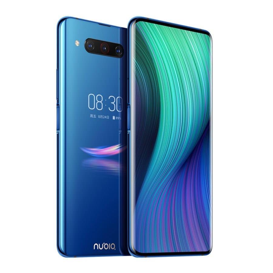 "New US Version ZTE Nubia Z20 LTE 8GB RAM 128GB ROM Mobile Phone 6.42"" Snapdragon 855+ Dual Screen Android 9.0 Triple Rear camera"