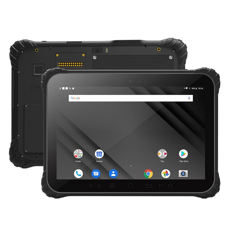 UNIWA P1000 IP67 Waterproof Rugged Android 9.0 Tablet Snapdragon 632 Octa Core 4GB 64GB 11000mAh 10.1'' NFC 13MP Camera 4G Phone