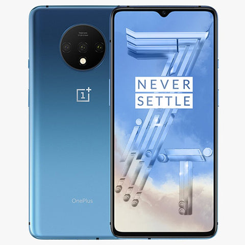 New OnePlus 7T Global ROM mobile phone Snapdragon 855 Plus 6.55'' AMOLED Screen 90Hz Fluid Display 48MP Cameras 30W Warp Charge