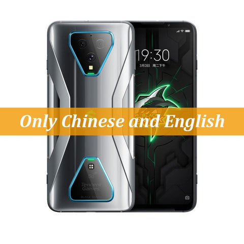 New Xiaomi Black Shark 3 5G Snapdragon 865 12GB 256GB Game Phone Octa Core 6.67'' AMOLED 64MP Triple Cameras 65W Charger 4720mAh