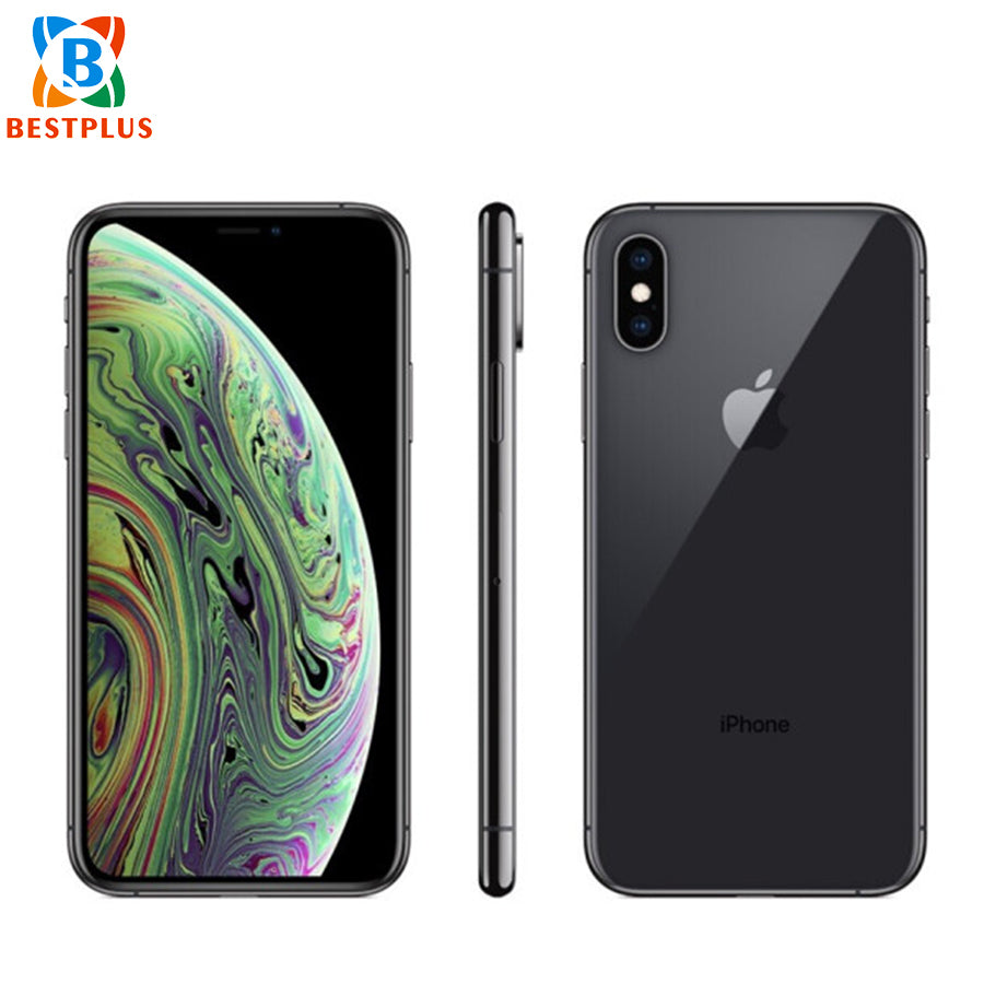 "Brand New Apple iphone XS A2098 Mobile Phone 5.8"" 4GB RAM 256GB ROM Hexa-core IP68 dustproof waterproof Face ID Smart Phone"