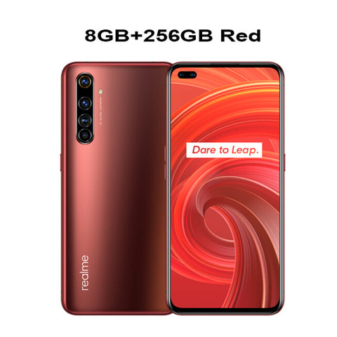 "Brand Realme X50 Pro 5G Mobile Phone 6.44"" 8/12GB RAM 128/256GB ROM Snapdragon 865 65W SuperDart Dual SIM NFC 64MP Camera Phone"