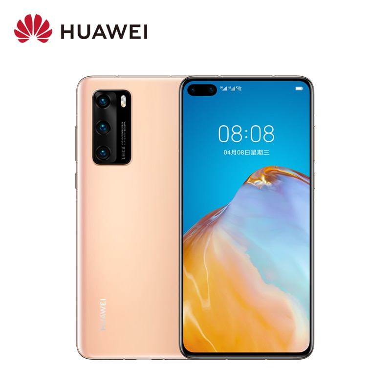 "Huawei P40 5G Mobile Phone Smartphone Cell Phone 6.1"" OLED FHD+ Display Octa-core 3800mAh SuperCharge Fingerprin Dual Sim NFC"