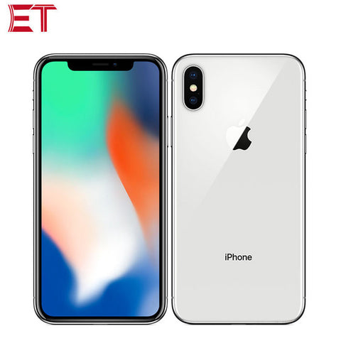 "Original Apple iPhone X 4G LTE Mobile Phone 5.8""1125x2436 3GB RAM 64GB/256GB ROM A11 3D Touch Face ID 2716mAh NFC iOS Smartphone"