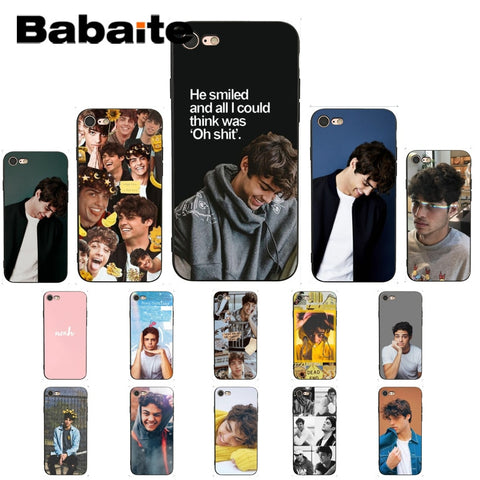 Babaite Noah Centineo  newly Colorful Cute Phone Case for iPhone X XS MAX 6 6S 7 7plus 8 8Plus 5 5S XR 11 11pro 11promax