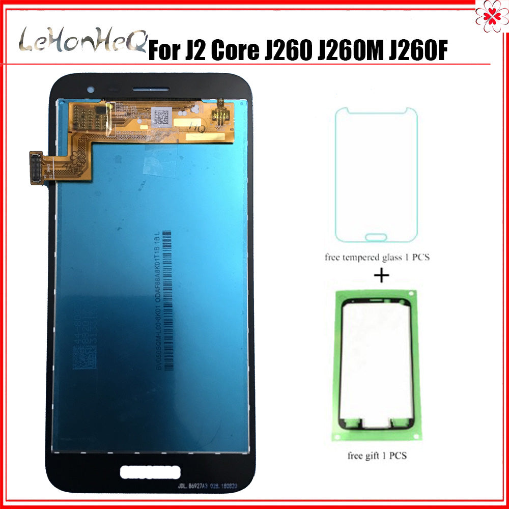 Super AMOLED For Samsung Galaxy J2 core J260 J260M  J260F J260G LCD Display Touch Screen Digitizer Assembly