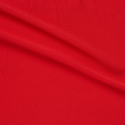 stretch polyester red bubble