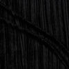 Crushed Velvet Black Polyester