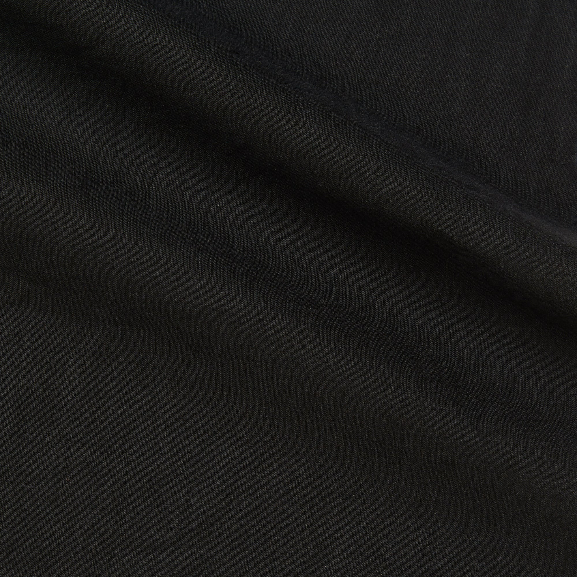 expo black linen cotton blend