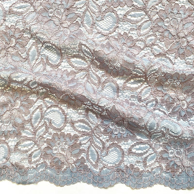 piccadilly rochelle lace with double scalloped edge
