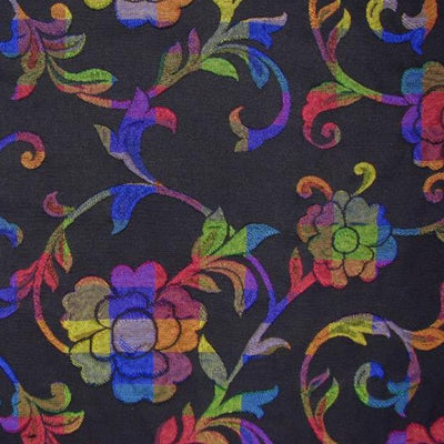 Floral Brilliant Polyester Overture Ruled