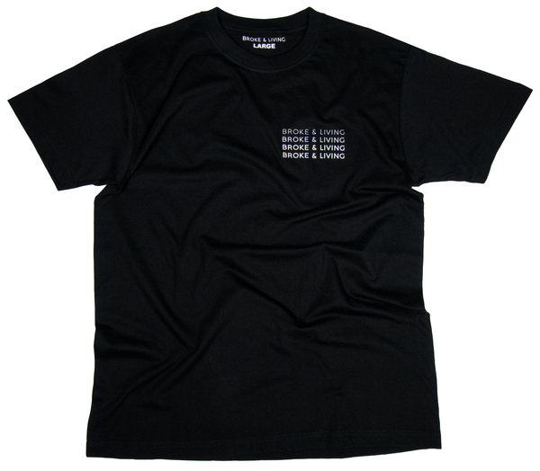 BROKE&LIVING GRADIENT T-SHIRT