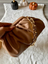 Load image into Gallery viewer, Luxe Chain Pouch (Nude)