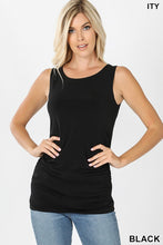 Load image into Gallery viewer, Ruched Sleeveless Top
