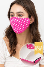 Load image into Gallery viewer, Polka-Dot Face Mask
