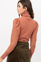 Load image into Gallery viewer, Sophie Turtle Neck Knit Top