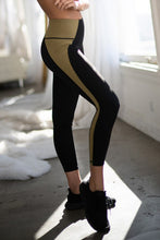 Load image into Gallery viewer, Color Block Legging (Olive)