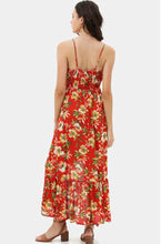 Load image into Gallery viewer, Orange Floral Maxi