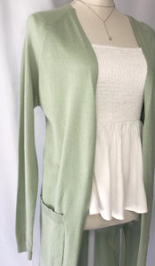 Just Go With Mint Cardigan