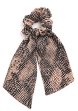 Load image into Gallery viewer, Snake Print Scrunchie