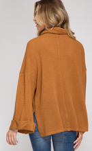 Load image into Gallery viewer, The Turtle Neck Waffle Top