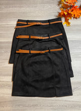 Load image into Gallery viewer, Ella Suede Mini Skirt