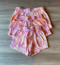 Load image into Gallery viewer, Pink Tie-Dye Moment Shorts