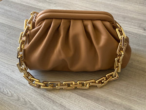 Luxe Chain Pouch (Nude)