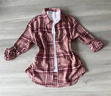 Load image into Gallery viewer, It's The Plaid Shirt For Me (Mauve)