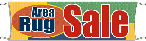 Giant Outdoor Banner: Area Rug Sale