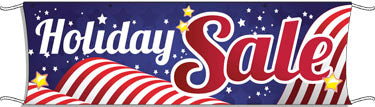 Giant Outdoor Banner: Holiday Sale (Patriotic)