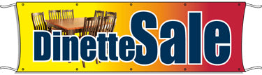 Giant Outdoor Banner: Dinette Sale
