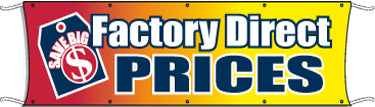 Giant Outdoor Banner: Factory Direct Prices