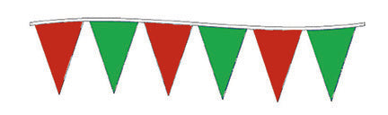 Christmas Pennant String (Red-Green)