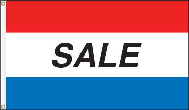 Tri-Color Message Flag: SALE