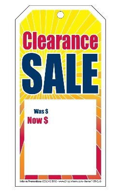 String Tags: (Pack of 100) Clearance