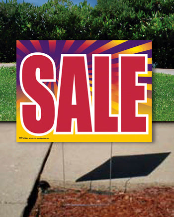 Coroplast Yard Sign: SALE