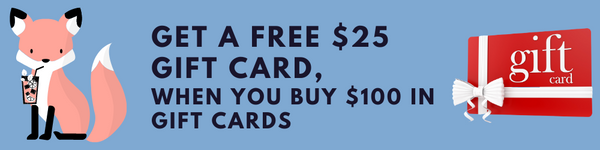 Free $25 Gift Card with $100 Gift Card Purchase