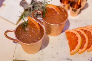 Rosemary & Grapefruit Mule (8 Cocktails)