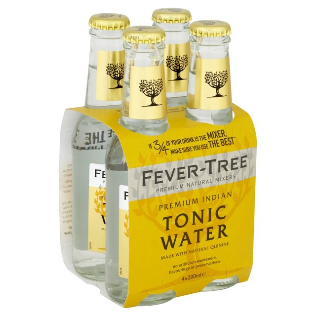 Fever Tree Premium Indian (4-Pack)