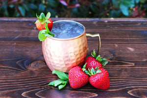 Strawberry Mint Mule (8 Cocktails)
