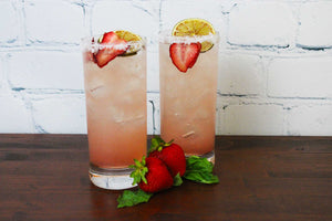 Strawberry Basil Margarita (8 Cocktails)
