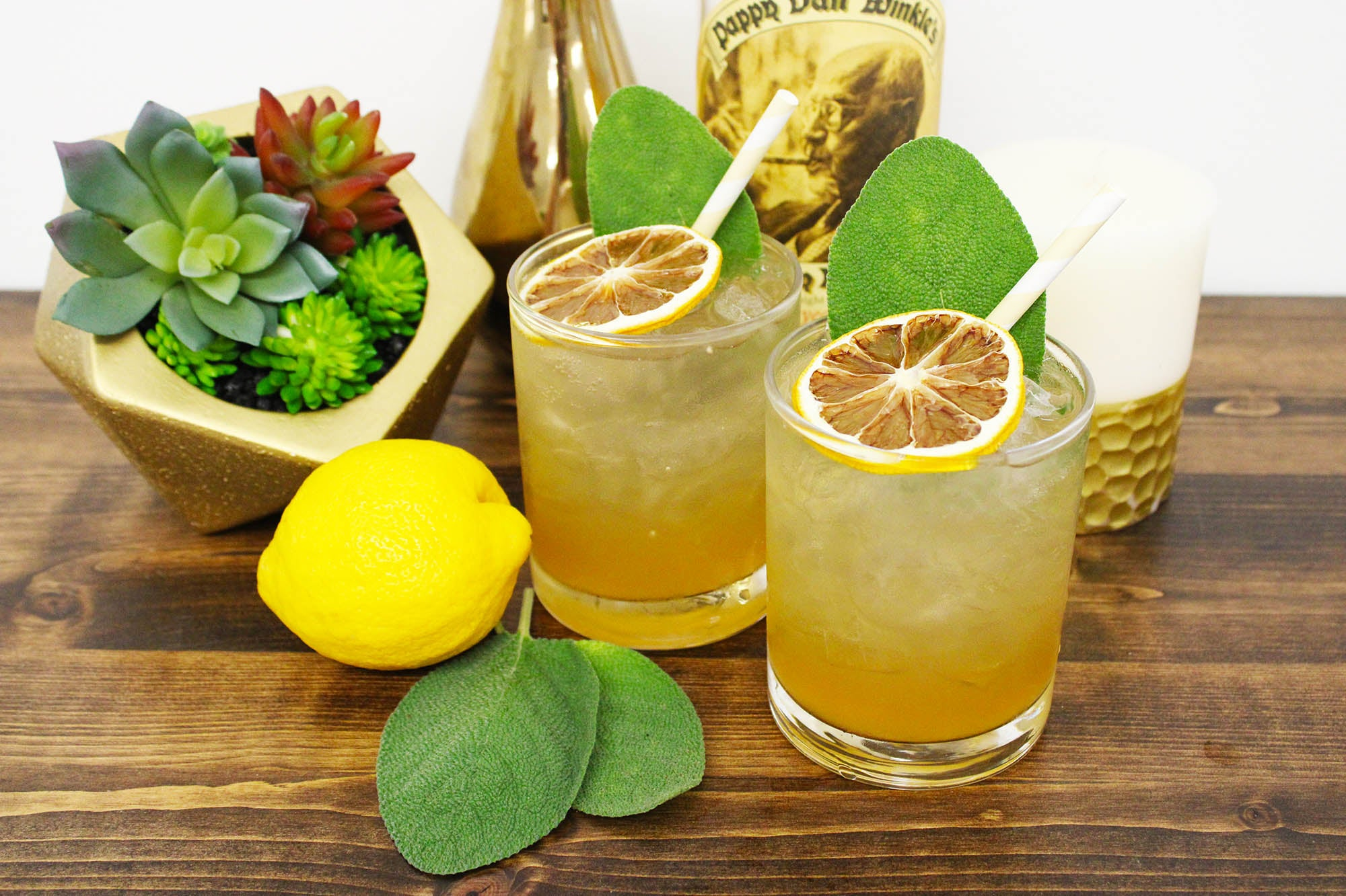 Sage Gold Rush (8 Cocktails)
