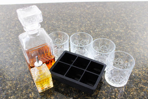 Whiskey Decanter Gift Set