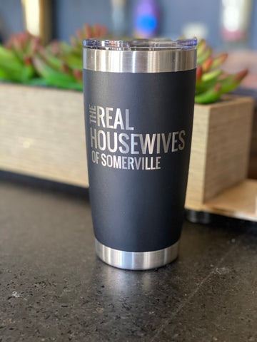 20 oz Real Housewives Of Somerville, black