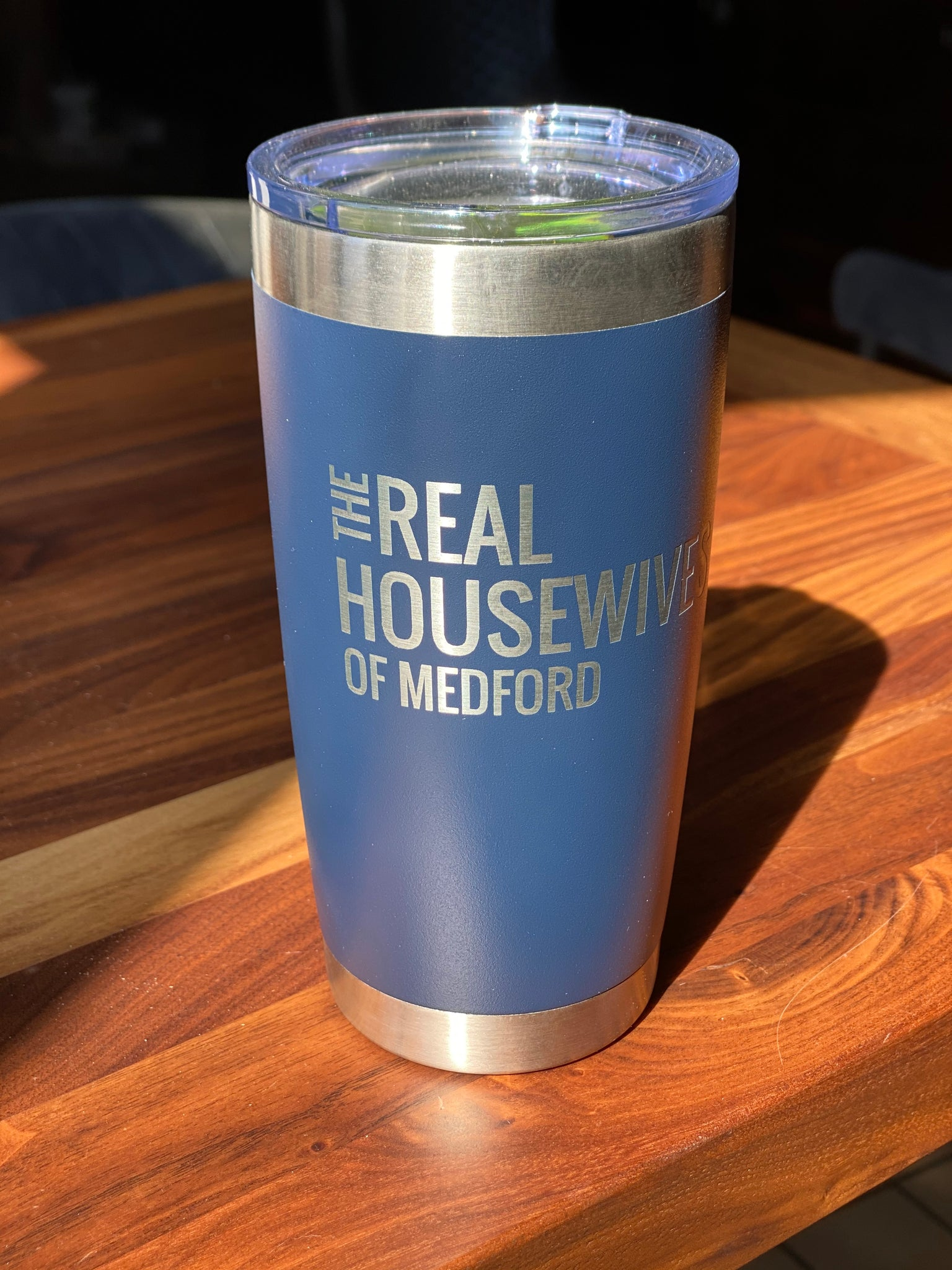 20 oz Real Housewives Of Medford, Navy Blue